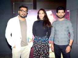Cast of 'Mukkabaaz' promote their film
