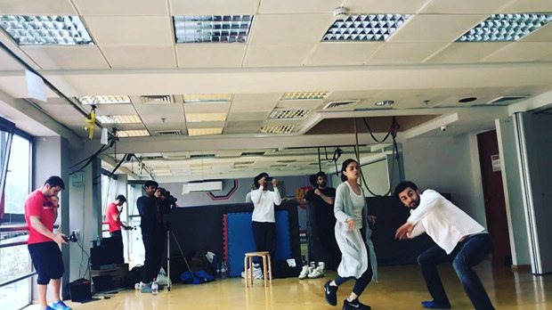 Check out Ranbir Kapoor and Alia Bhatt get into stunt training for Brahmastra in Israel