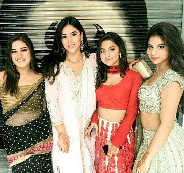 Check out Suhana Khan looks beautiful in a lehenga at a family wedding (2)