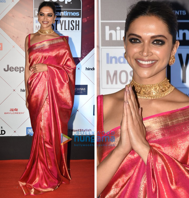 Deepika Padukone at the HT Most Stylish Awards 2018