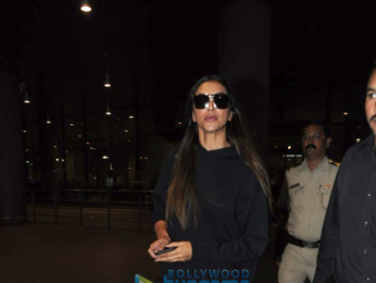 Deepika Padukone, Prabhu Deva, Arjun Kapoor, Isha Koppikar and others snapped at the airport