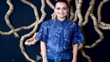 Dia Mirza snapped attending the Education conclave