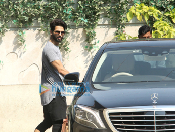 Fatima Sana Shaikh and Shahid Kapoor at the gym