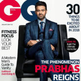 Prabhas On The Cover Of GQ India