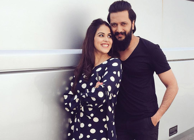 Genelia D'Souza did not speak to Riteish Deshmukh on the sets of their debut and he explains it all