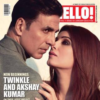Akshay Kumar, Twinkle Khanna On The Cover Of Hello!