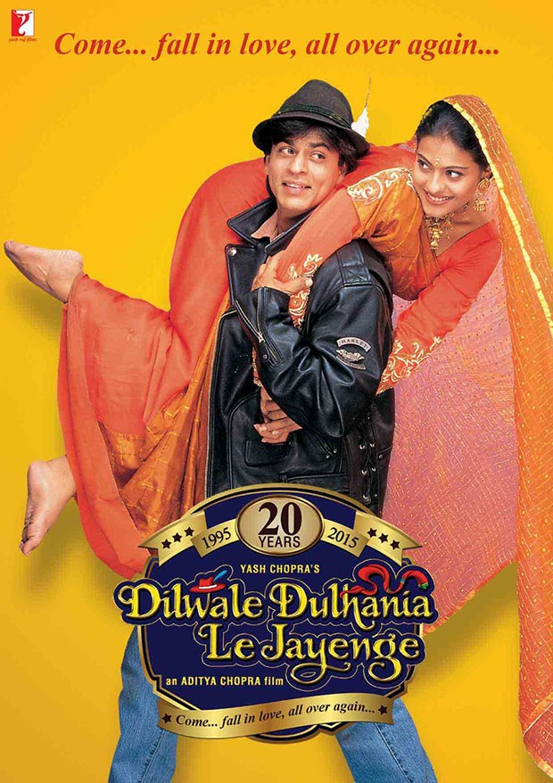 Dilwale dulhania le jayenge movie ke gane video main