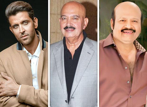 Hrithik Roshan, Rakesh Roshan and Rajesh Roshan come