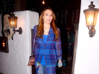Iulia Vantur spotted at Hakim's Aalim