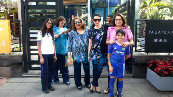 Karisma Kapoor with family spotted at Yauatcha, BKC