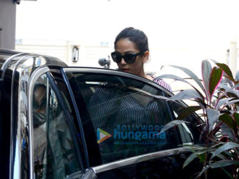 Mira Rajput snapped at a salon