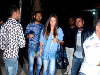 Neha Dhupia snapped at Sequel Bistro & Juice Bar