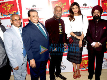 Shilpa Shetty at the press conference of 'The Mumbai Fest'