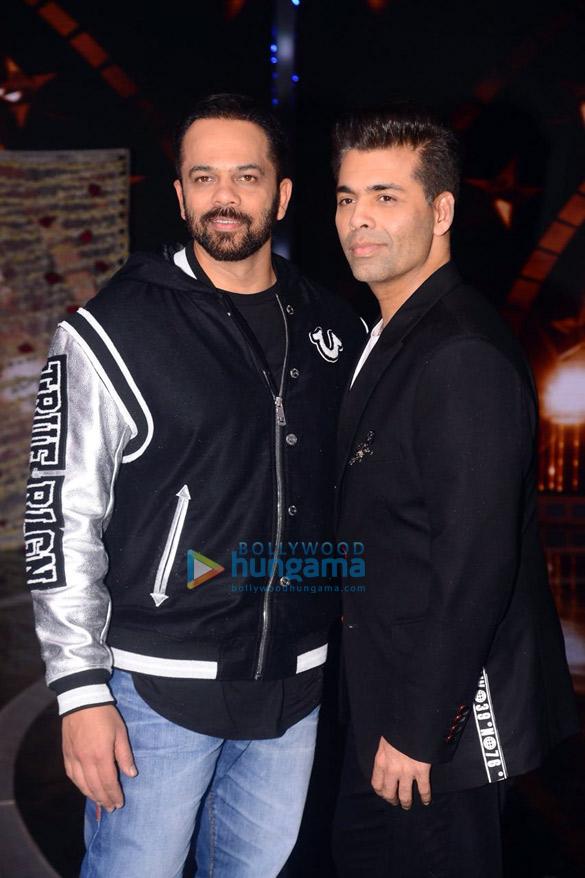 Sidharth Malhotra, Karan Johar and Rohit Shetty snapped on the sets of India's Next Superstars (3)