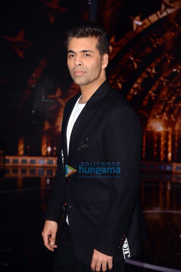 Sidharth Malhotra, Karan Johar and Rohit Shetty snapped on the sets of India's Next Superstars (4)