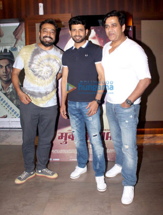Special screening of 'Mukkabaaz'