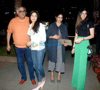 Sridevi snapped with family at BKC