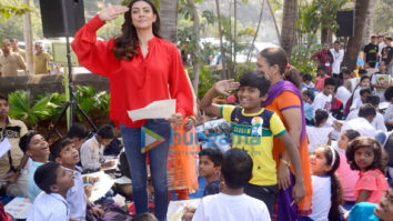 Sushmita Sen and Rouble Nagi snapped attending a Republic Day celebration