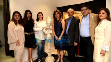 Raina Sachiin Joshi at Ghanasingh Be True for Bina Aziz's art meets jewellery event