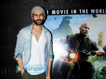 Varun Dhawan hosts a special screening of 'Jumanji: Welcome to The Jungle'