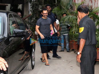 Aamir Khan spotted at the Sukho Thai Spa