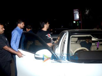 Akhil Akkineni snapped at Pali Bhuvan