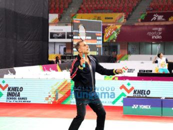 Akshay Kumar snapped at Khelo India School Games in Delhi