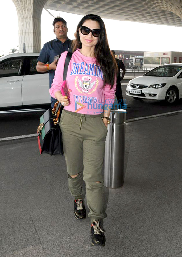 Ameesha Patel and Bhumi Pednekar snapped at the airport