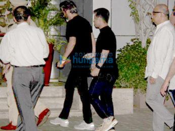 Anil Kapoor reaches Mumbai airport to receive Sridevi's mortal remains