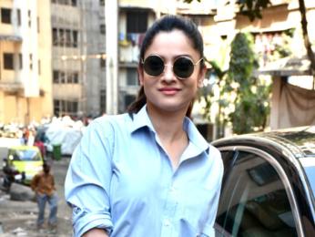 Ankita Lokhande spotted at Malad