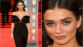Sophisticated in the front, Party in the back! This is how Amy Jackson rolled at the BAFTA Awards 2018!