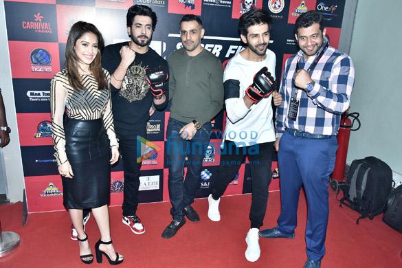 Cast of Sonu Ke Tittu Ki Sweety snapped attending the Super Fight League