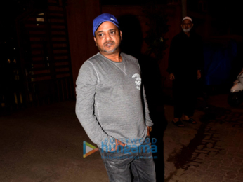 Celebs snapped attending a funeral at the Versova kabrastan