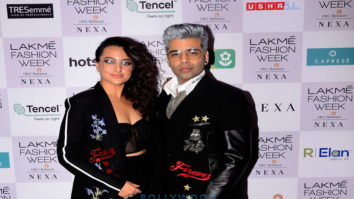 Celebs snapped attending the Lakme Fashion Week 2018