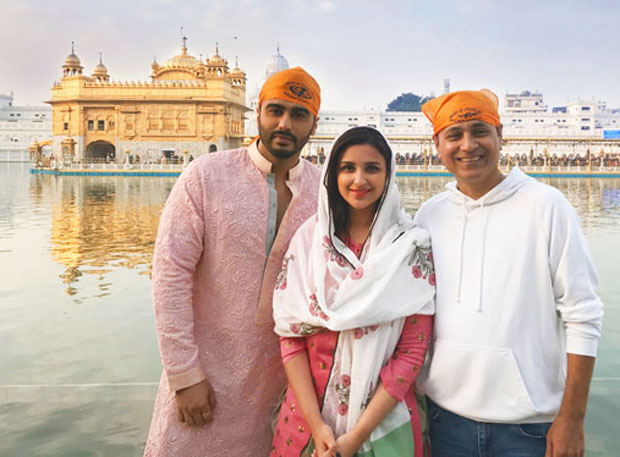 Check out: Arjun Kapoor visits the Golden Temple on first day of Namastey England
