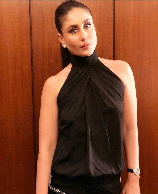 Kareena Kapoor Khan looks chic in black