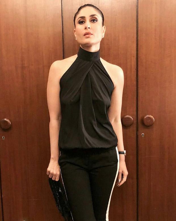 Kareena Kapoor Khan looks minimal chic in black