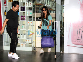 Chitrangada Singh snapped at Aura Thai Spa in Pali Hill Bandra