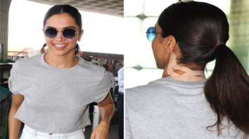 Decoded: Mystery behind Deepika Padukone's back bandage at Mumbai airport
