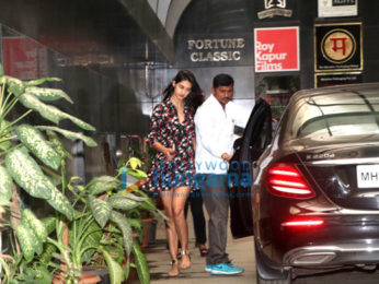 Disha Patani spotted outside Ashutosh Gowarikar's office in Khar
