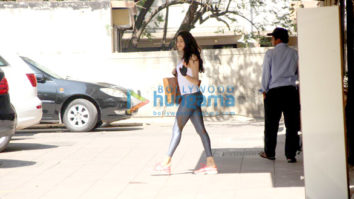 Janhvi Kapoor spotted at the gym