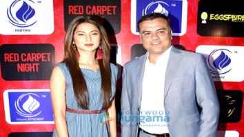 Jennifer Winget snapped with Rakesh Rathi