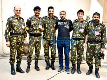 John Abraham and Diana Penty snapped promoting their film Parmanu - The Story of Pokhran