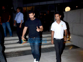 John Abraham snapped at BKC