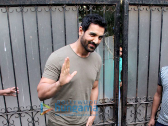 John Abraham spotted at Tip and Toe