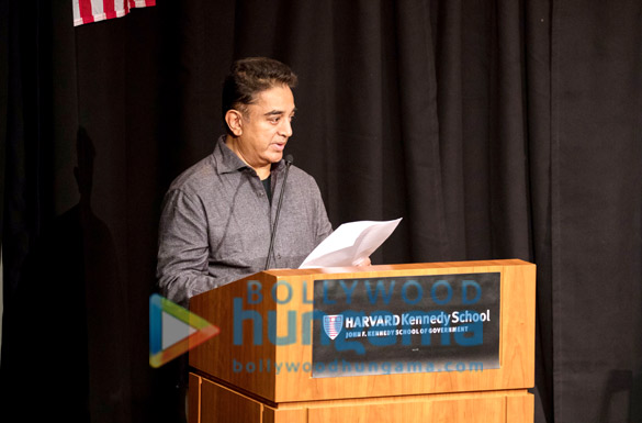 Kamal Haasan gives Keynote Speech at Harvard
