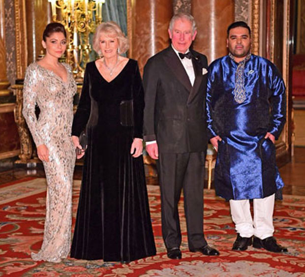 Kanika Kapoor performs in the presence of Prince Charles ...