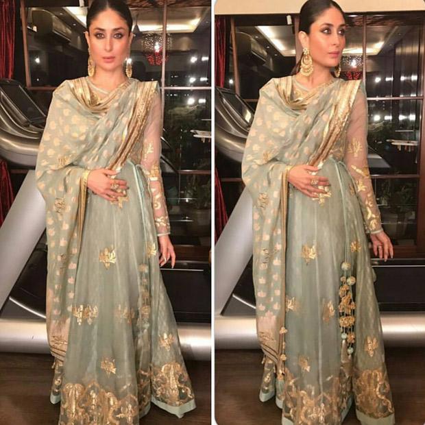 Kareena Kapoor Khan exuding elegance in Simar Dugal ensemble