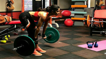 Katrina Kaif flaunts her abs and gives fitness goals in this workout video