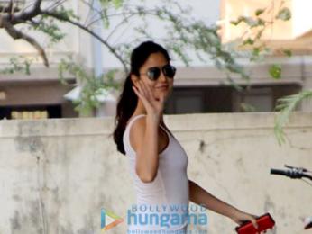 Katrina Kaif spotted outside the gym